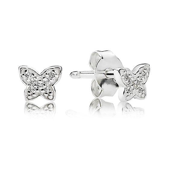 Pandora Ohrstecker Petite Schmetterlinge 290572CZ