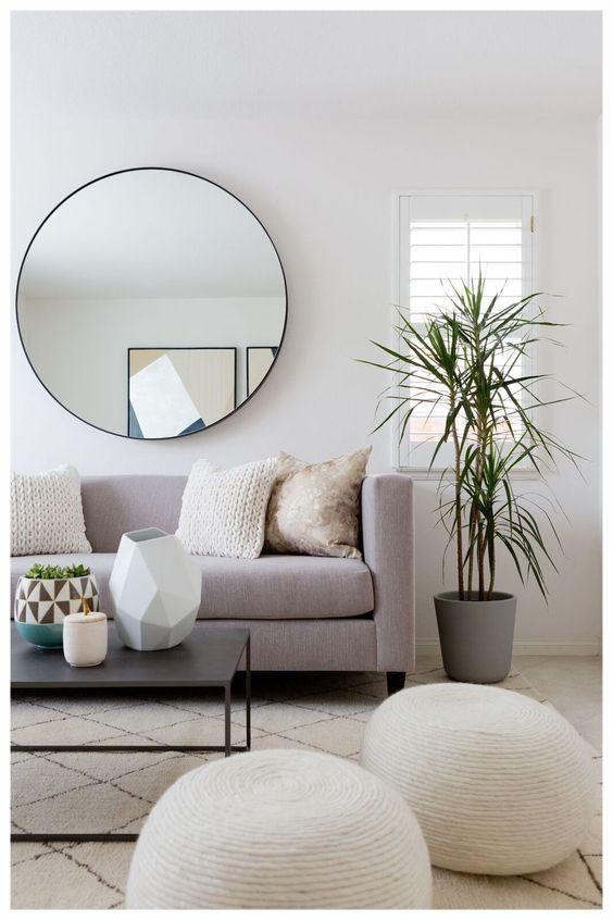 ronde spiegel bank