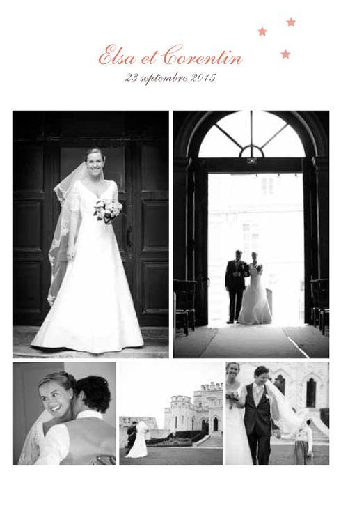 hollywood carte de remerciement mariage par mr mrs clynk - Remerciement Mariage Photo