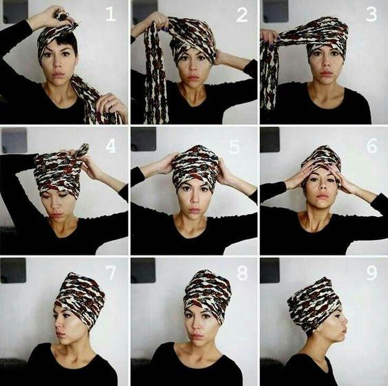 Turban wax africa