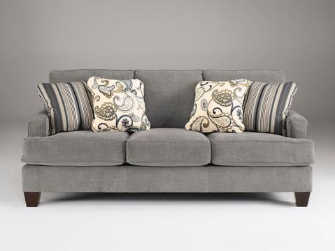 Sofa In Ultra Soft Upholstery