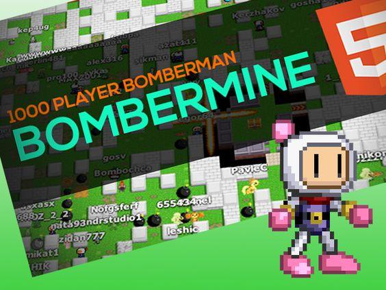 1000人同時プレイ可能!MMOボンバーマン「Bombermine」が面白い!