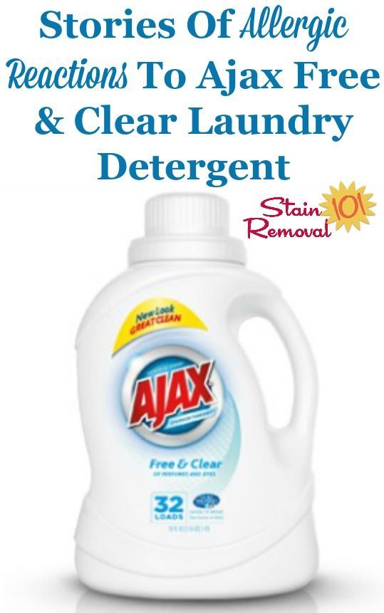 Ajax Free Clear Laundry Detergent Reviews With Images Laundry Detergent Laundry Detergent Reviews House Cleaning Tips