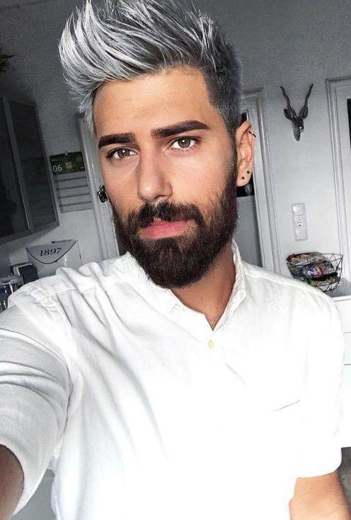 Dye Hard The Unconventional Men S Hair Trend Man Wants