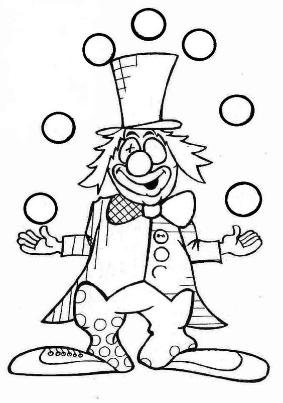 graphisme en maternelle  clown et graphies de base