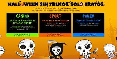 el forero jrvm y todos los bonos de deportes: 888sport casino poker promociones Halloween hasta ...