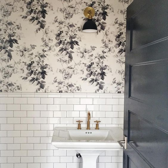Tiled Wallpaper For Bathrooms: Studio McGee (@studiomcgee) • Instagram Photos And Videos