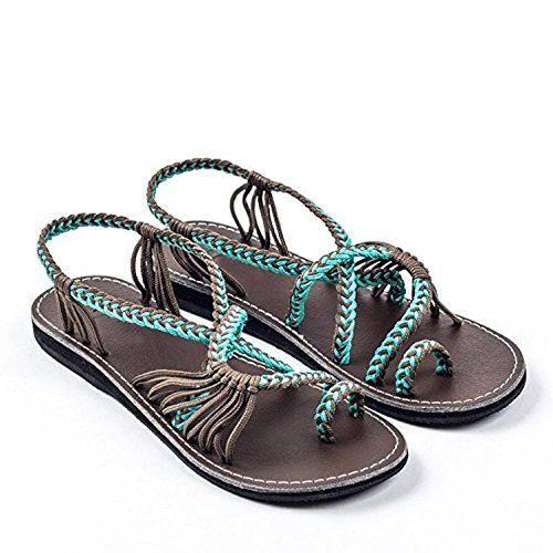 Sandalen Damen,Binggong Frauen Flip Flops Sandalen Sommer