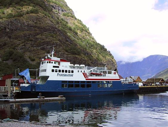 A ferry like we were on that goes along the fjords, Norway