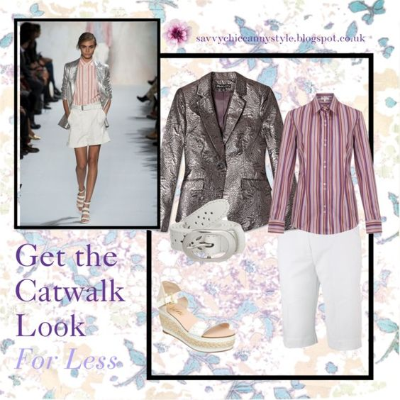 Get the Catwalk Look for Less 01 by savvycanny on Polyvore - my first attempt with a template creation!