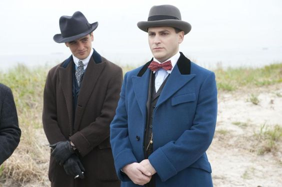 Vincent Piazza as Lucky Luciano - Boardwalk Empire 1920s men's style