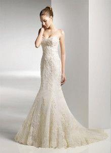 $157 New white/ivory lace wedding dress custom size