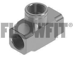 Flowfit Hydraulic BSP fixed female tee