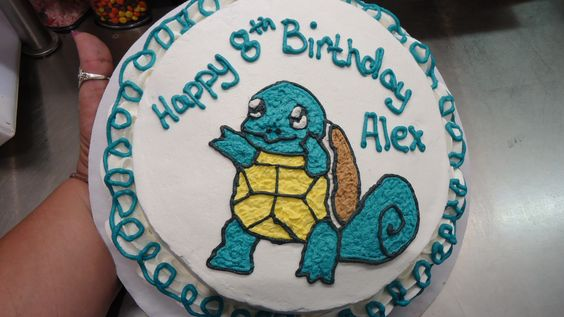 Squirtle Cake. Ben & Jerry's