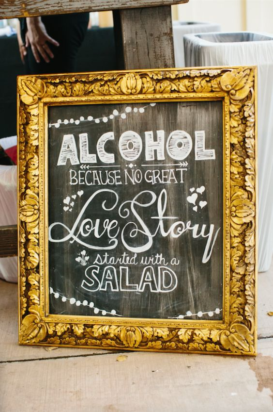 Cheeky Wedding Signs!