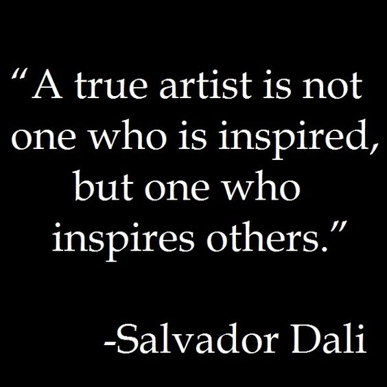 words of encouragement  http://www.positivewordsthatstartwith.com/     Quote - Salvador Dali #quote