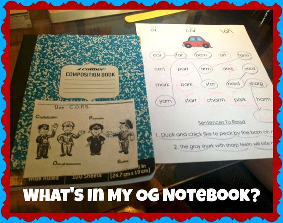 What's In My OG Notebook?