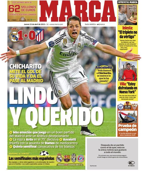 Chicharito!