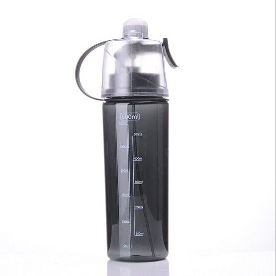 Creative Button Mist Spray Bpa Free Plastic Water Bottle Unit Price 1 23 Number 80049 Moq 1000 Inventory 1000 Sale 1 Water Bottle Bottle Plastic Water Bottle