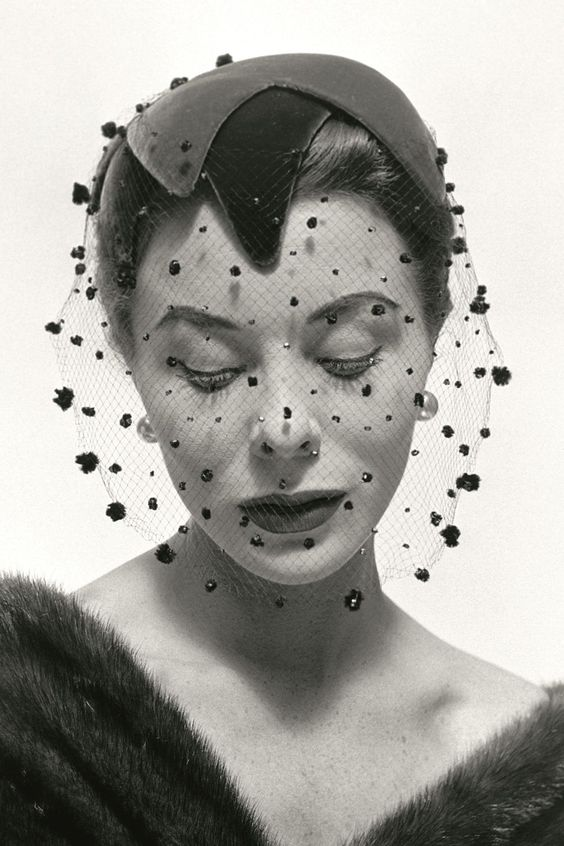 Bettina Graziani by Georges Dambier 1953