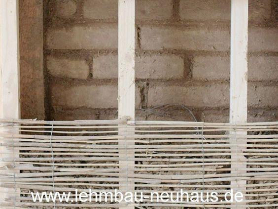 Neuausfachung mit Lehmstein-Mauerwerk, Innendämmung mit Holzleichtlehm und…