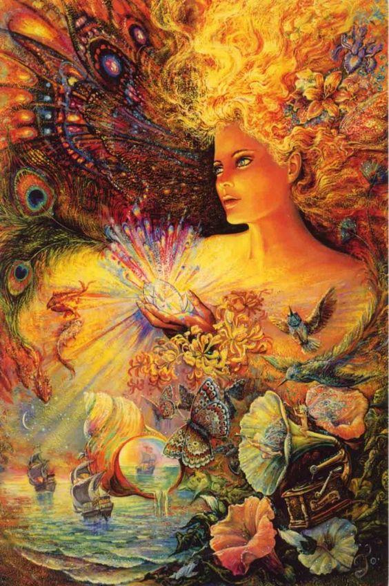 Josephine Wall Fantasy Art | ... - JOSEPHINE WALL - Féerie - JOSEPHINE WALL - FANTASY ART WOMAN 3: