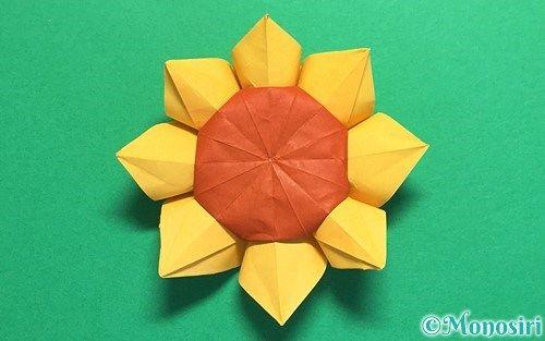 折り紙 ひまわり 折り 方