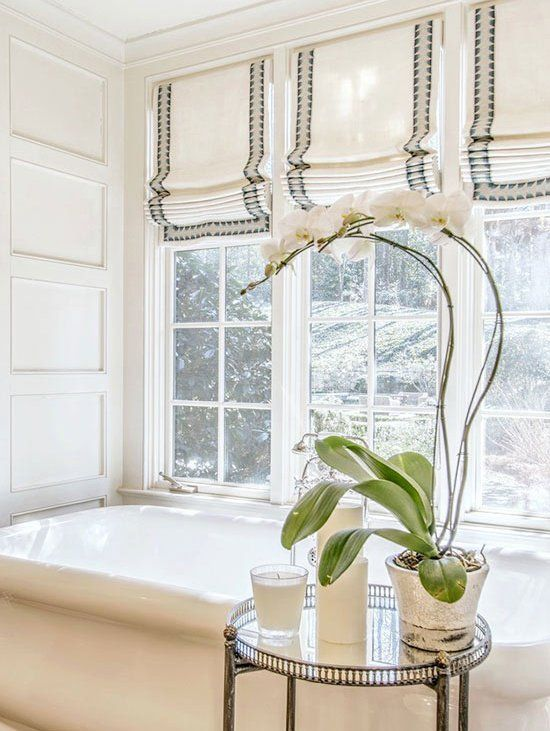 Monochromatic Looks That Work Kitchen Window Treatments