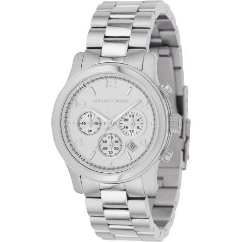 Michael Kors Watches Silver Chronograph Runway