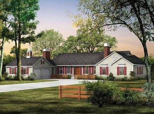Your House Cattle Ranch House Model Has Actually Been Prominent And Also Has Actually Come To Be Ranch Style House Plans Ranch House Designs Ranch Style Homes