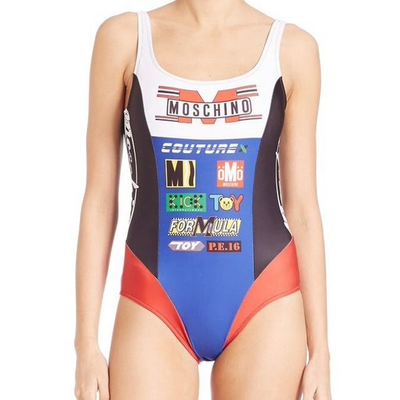 Moschino racing Motorsport swimsuit one piece Moschino swimsuit, new with tags. Cheaper through PP or depop Moschino Swim One Pieces