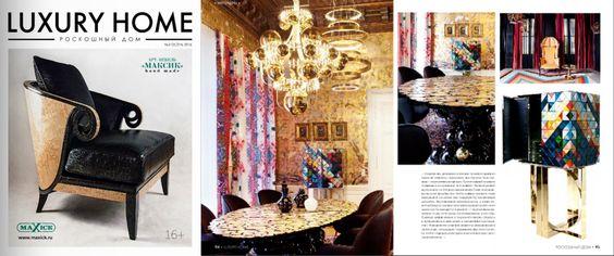 Luxury Home - Russia | September 2016 | www.bocadolobo.com/en/press/  #bocadolobo #publications #luxuryfurniture