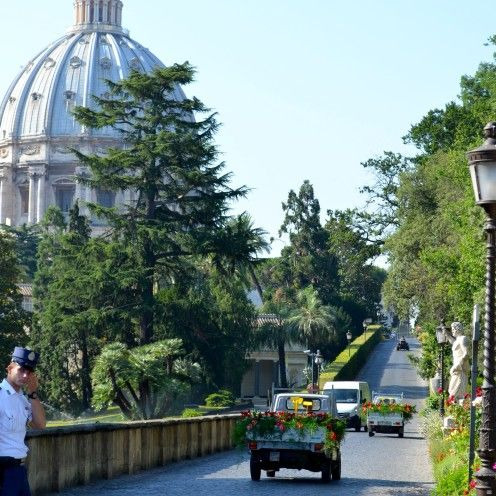 A VISIT TO THE VATICAN GARDENS | #Pope #Italy #Vatican #Gardens | www.AfterOrangeCounty.com
