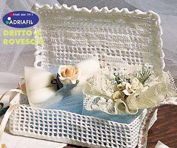 cestas em croches - claudia - Picasa Web Albums