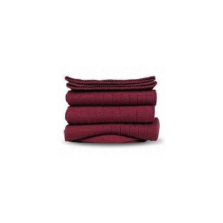 Chaussettes mi-bas en coton mercerisé, simple fil certifié Oeko-tex©, remaillage extra-fin, tige mi-bas à côtes plates. 80% coton mercerisé 17% polyamide 3% élasthane