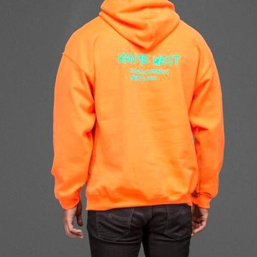 Kanye West Wyoming Jackson Hole Hoodie Yeezy Seasonsizes S 2xcolors Orange Black White In 2020 Yeezy Hoodie Orange Black Kanye West