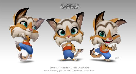 """Hi again! I mentioned the game """"Brightwood Adventures"""" before and even posted a few of the characters. Well, I don't think I ever posted this guy before. I think he has a pretty cute design and it ..."""