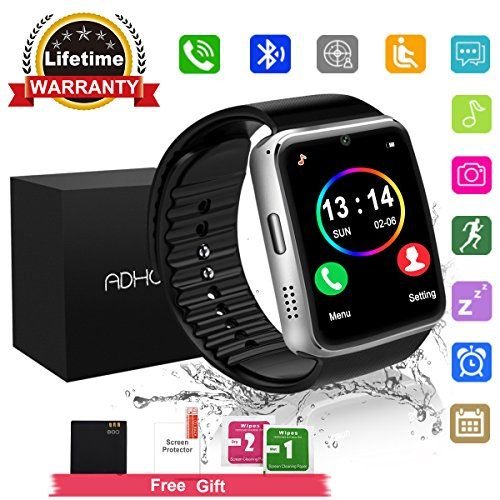Bluetooth Smart Watch Touchscreen With Cameraunlocked Watch Cell Phone With Sim Card Slotsmart Wrist Smart Watch Smart Watch Android Fitness Watches For Women
