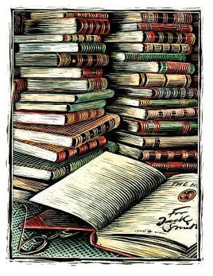 Resultado de imagem para livros tumblr desenho