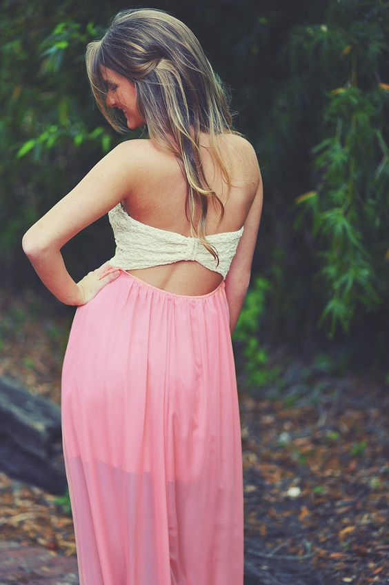 On Cloud Nine Maxi Dress: Peach | Hope's