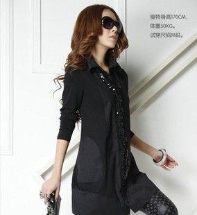 http://sewtop.com/women-shirt-lady-korea-lady-black-extra-large-slim-long-long-sleeve-lining-p-4075.html