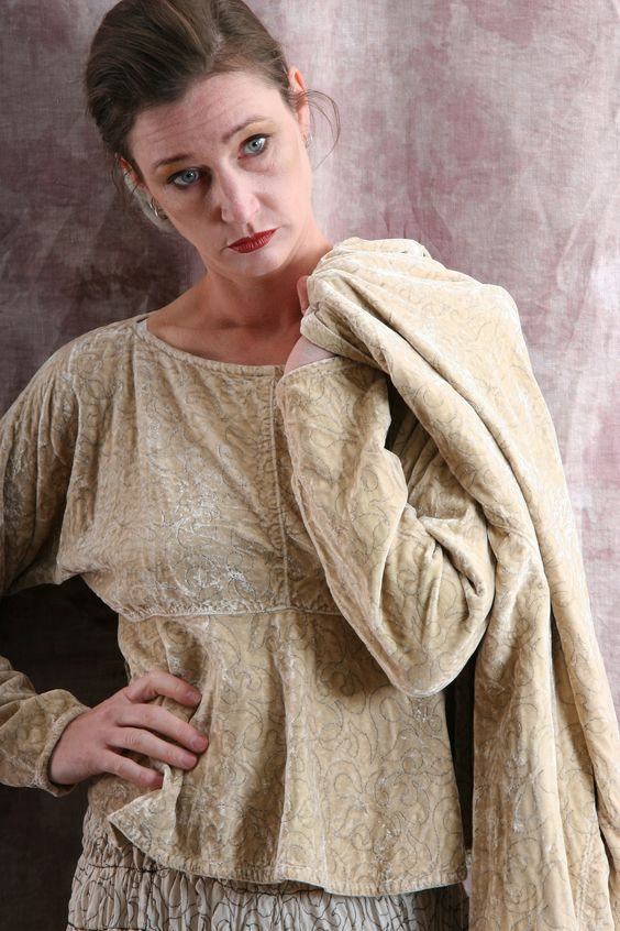silk linen ecotton slow fashion artisanal layered look...