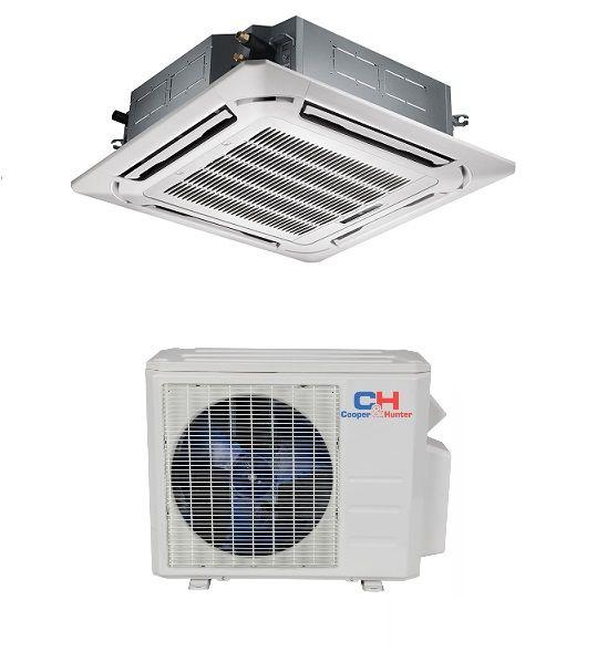 C H 24000 Btu Cassette Mini Split In Minisplitwarehouse Com Heat Pump Air Conditioner Heat Pump Air Conditioner Units
