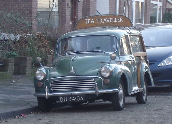 1962 Morris Minor 1000 Traveller---my first car was a Morris Minor…