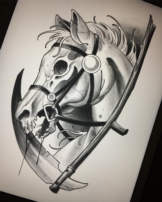 Sketches Tattoo Design Tattoo Collection Every Hour I Publish The Most Interesting Tattoos Subscribe Ht Horse Tattoo Design Sketch Tattoo Design Horse Tattoo