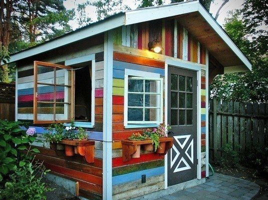40 Simply Amazing Garden Shed Ideas Abri De Jardin Abri Jardin Palettes Abri De Jardin Diy