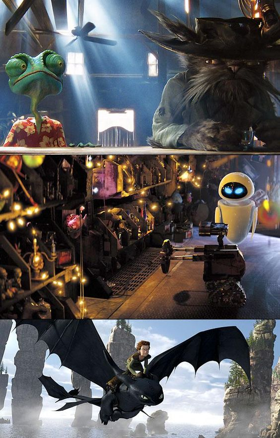 Pixar hired Deakins as a visual consultant on their post-human robot odyssey, and since then he's also worked with the animation teams behind How to