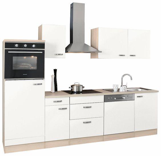 Optifit Küchenzeile ohne E-Geräte »Faro«, Breite 270 cm Jetzt - küchenblock ohne e geräte