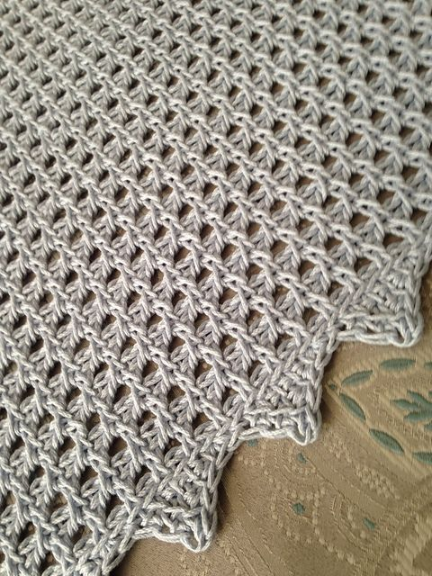 Volento Baby Blanket pattern by Evelyn Lorenzini ...
