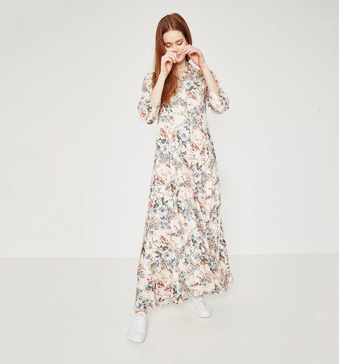 robe chemise longue promod